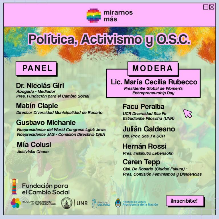 Flyer-PoliticayActivismo